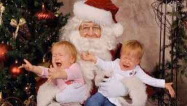 Image: No sitting on Santa's knee allowed as Christmas tradition falls victim to COVID-19