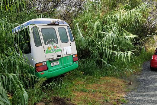 School bus crashes north of Auckland