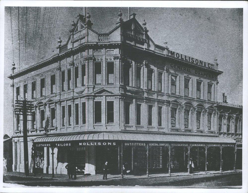 DUNEDIN George Street (287-294 Mollisons)