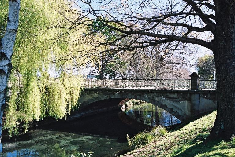 Armagh Street Bridge, Hagley Park