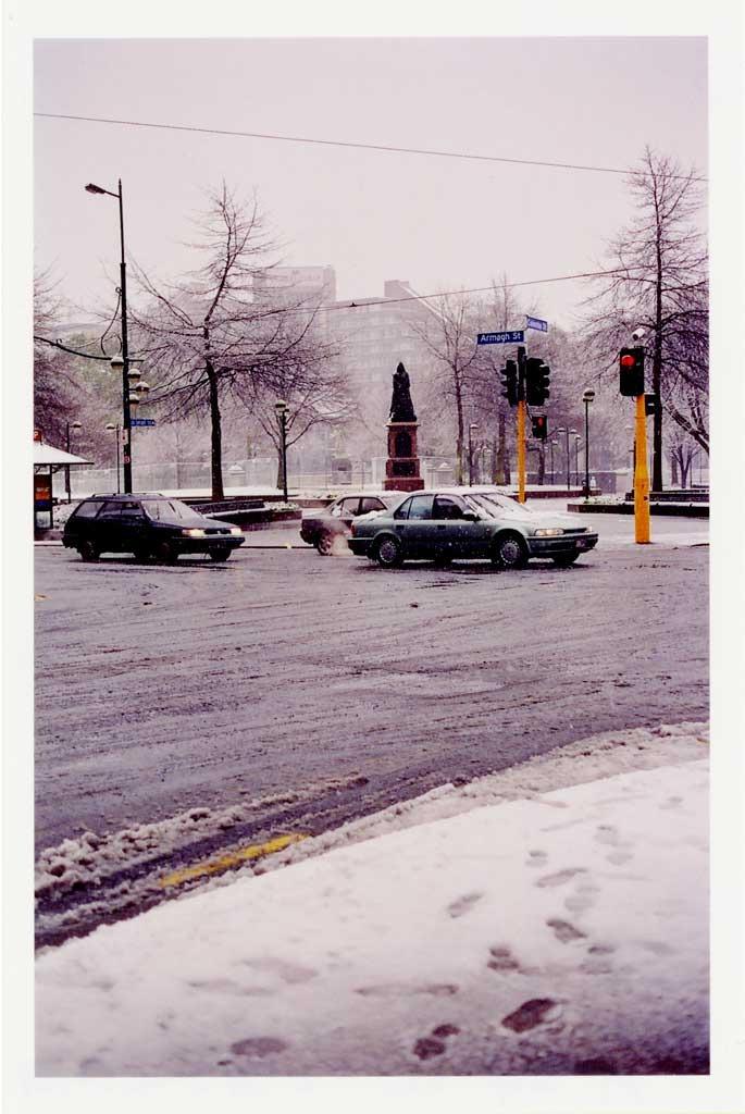 Victoria Square under Snow