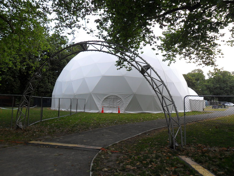 Hagley Park Events Village - 5 February 2012 #SAM 2755