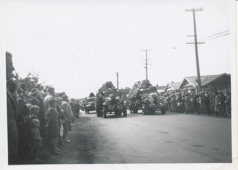 Funeral procession for the Ballantynes Fire Victims