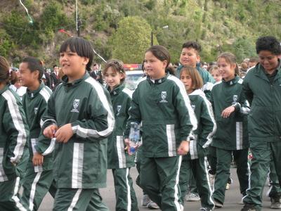 Sarah Walker Parade - Kawerau South Primary School Children