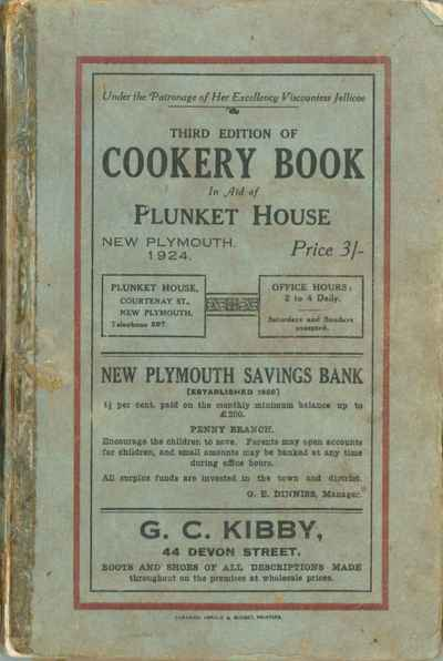 Plunket House Cookery Book 1926