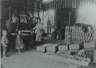 BCI 12 Brickyard in McCullum St, 1890
