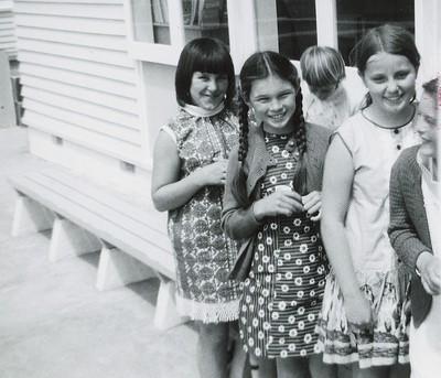 Group of Wakefield School Girls, 1969