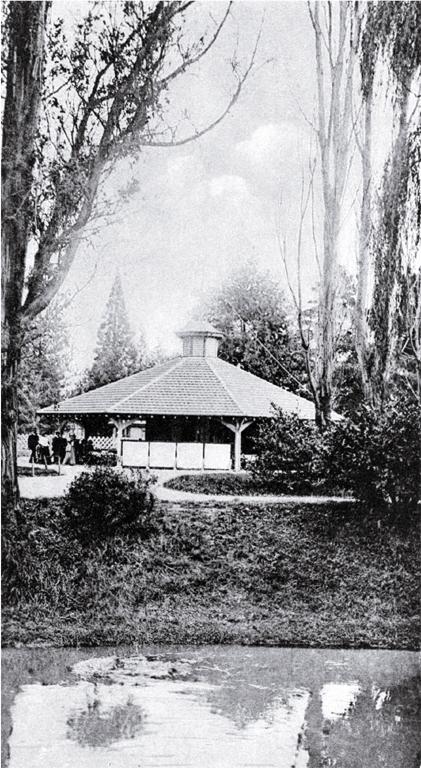 The tea kiosk at the Botanic Gardens, Christchurch