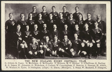 The New Zealand Rugby Football Team