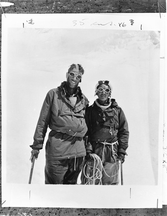 [Sir Edmund Hillary - Everest Expedition. Copies of �Times� photos]