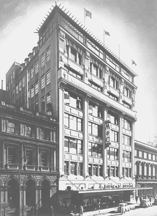 [Facade, Milne & Choyce building]
