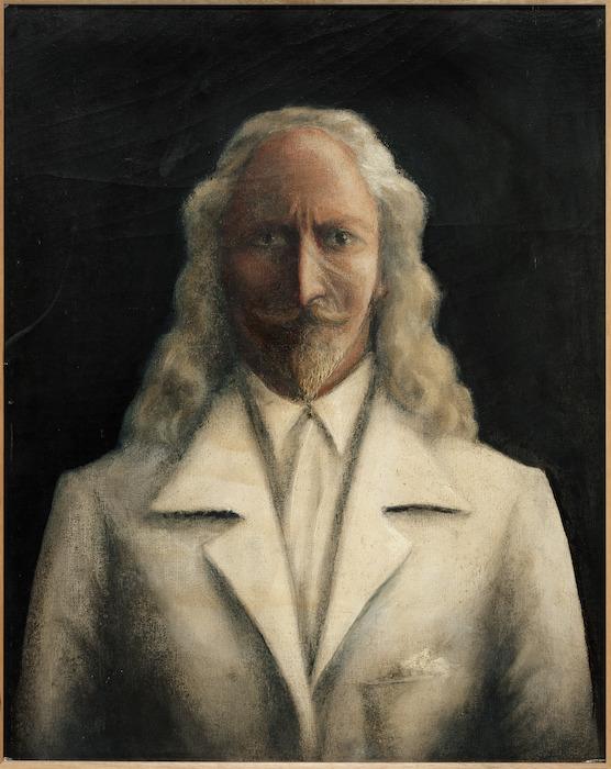 Terry, Edward Lionel, 1873-1952 :[Self portrait. ca 1938].