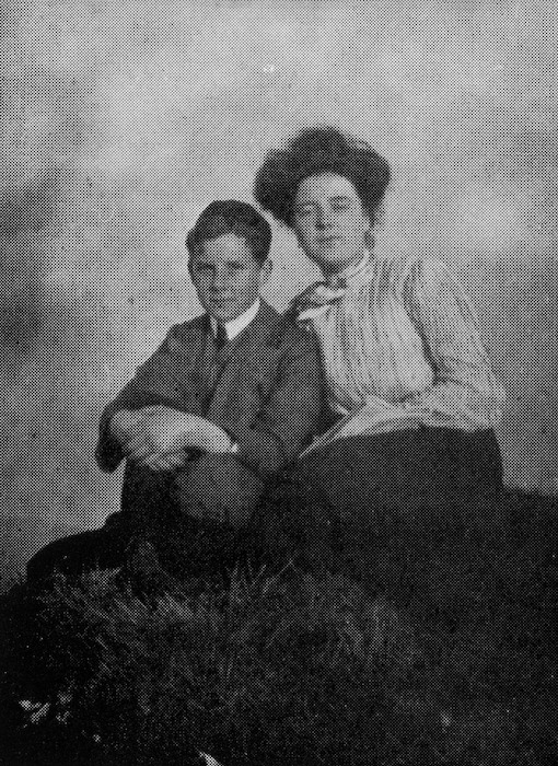 Katherine Mansfield and her brother Leslie