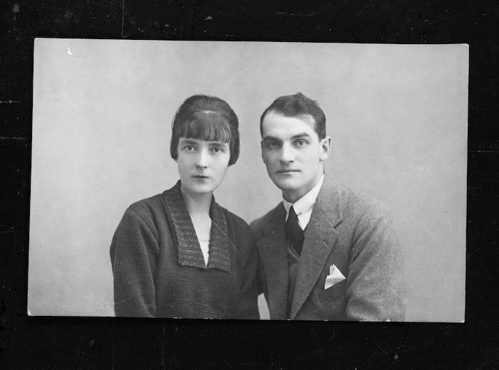 Katherine Mansfield and John Middleton Murry
