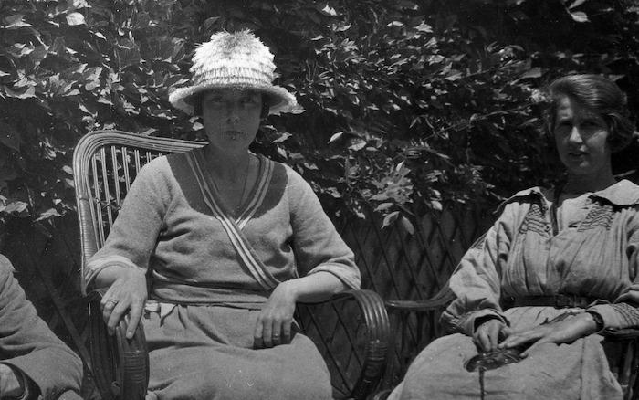 Portrait of Katherine Mansfield and Dorothy Brett