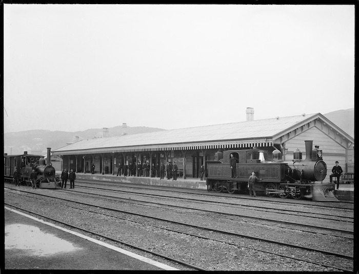 Lambton Railway Station, Wellington