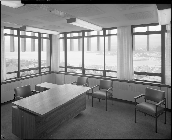 Meteorological Office, Kelburn, Wellington, interior