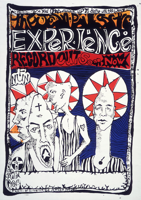 Jean-Paul Sartre Experience (Musical group) :The Jean-Paul Sartre Experience. Record out soon now. Feel it, live it, be it, flex thyself [1986].