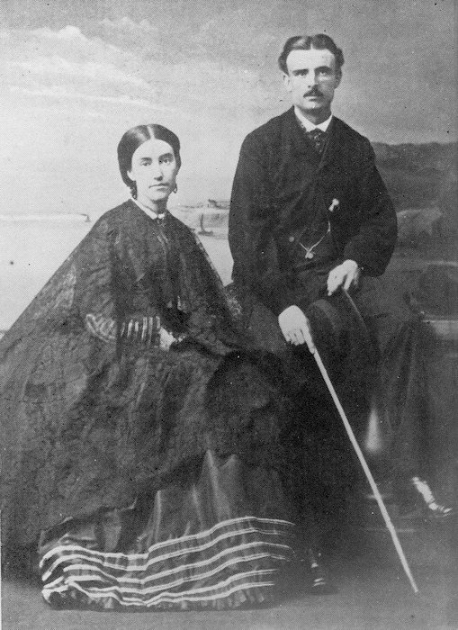 Mary Anne Barker and her husband Frederick Napier Broome