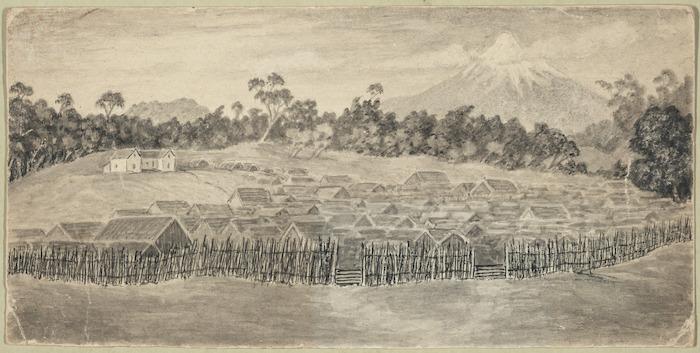 Artist unknown :Parihaka [1881 or later?]