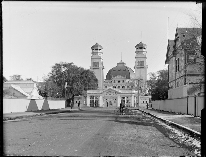 New Zealand International Exhibition Building, Hagley Park, Christchurch