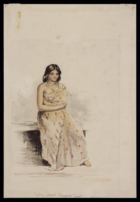 Oliver, Richard Aldworth, 1811-1889 :Emily - a Maori. Nauranga, Jany [18]51