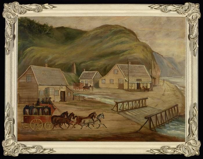 Rollason, James Bernard Richard Walter, 1856-1906: [Ngauranga, late 1840s]. [ca 1900]