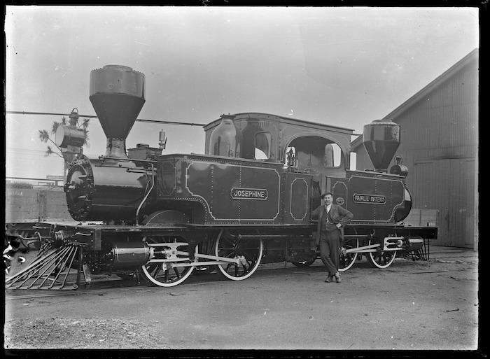 E Class steam locomotive Josephine, E 175, 0-4-4-0T