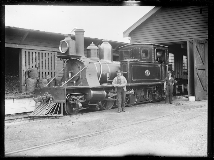 M class steam locomotive, 'M' 4, 2-4-4T type.