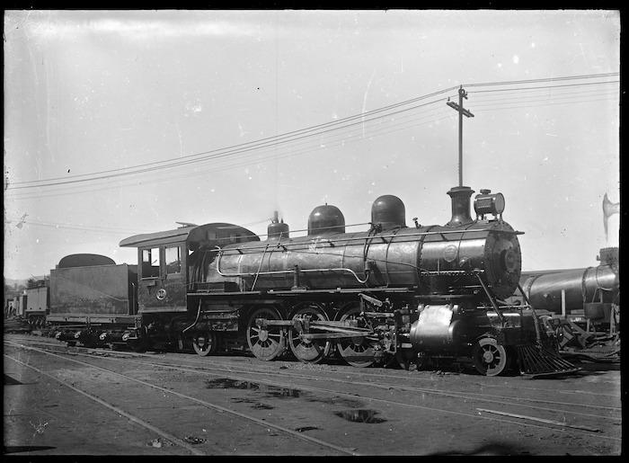 """Q"" class steam locomotive no. 346 (4-6-2 type)"
