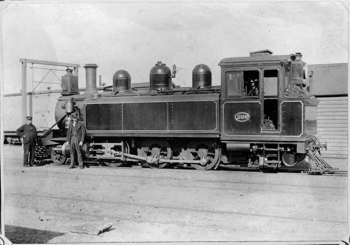 "Steam locomotive ""Wb"" class 298 (2-6-2T type)"