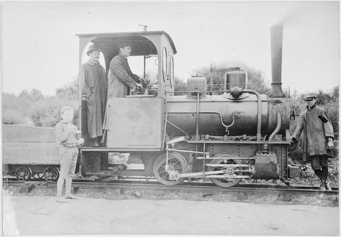 Steam locomotive, built by Orenstein & Koppel, Germany (maker's no. 1411).