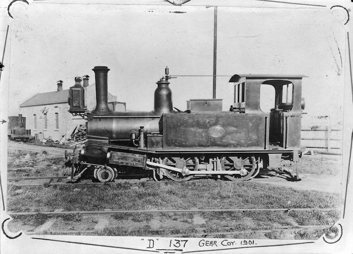 D Class steam locomotive, Gear Company locomotive no. 2 (D 137), 2-4-0T.