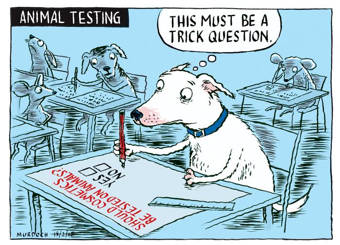 Murdoch, Sharon Gay, 1960- :Animal testing. 18 February 2015