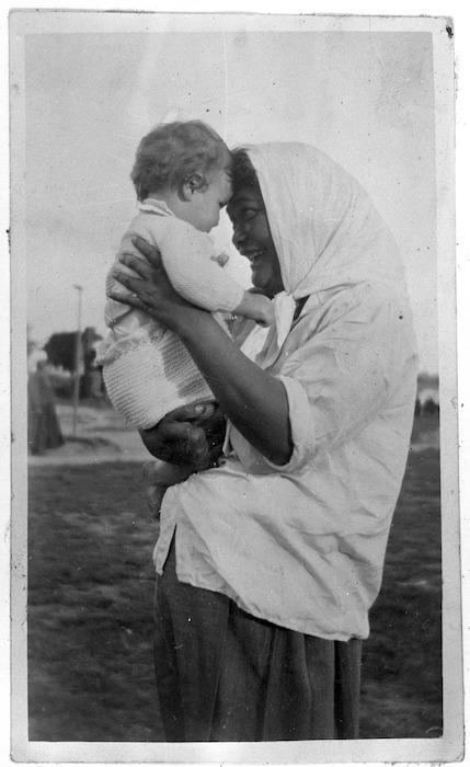Te Kirihaehae Te Puea Herangi and baby