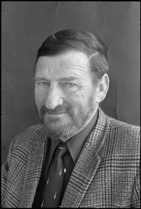 Portrait of Denis Glover, 1973