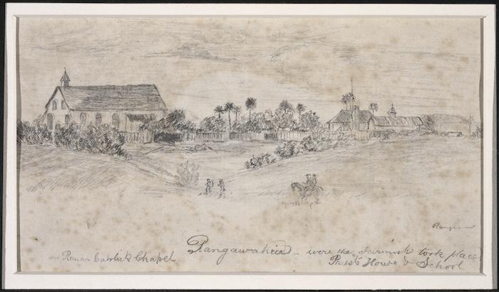 [Eastwood, Charles], 1848-1868 :Roman Catholic Chapel Rangawahia where the skirmish took place. [1864].