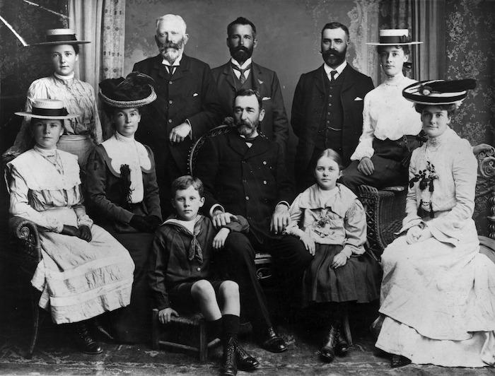 Delahenty, A L :Photograph of Beauchamp family at Las Palmas, 1903