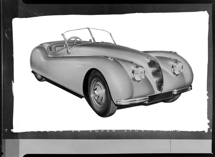 Jaguar convertible car