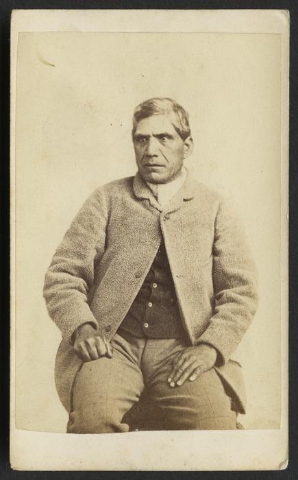 Richards, E S (Wellington) fl 1862-1873 :Portrait of Mohi Ngaponga