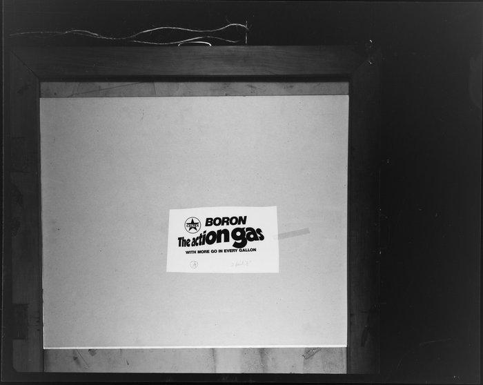Caltex Boron 'The Action Gas' logo