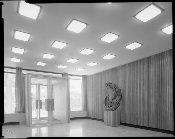 Entrance, Meteorological Office, Kelburn, Wellington