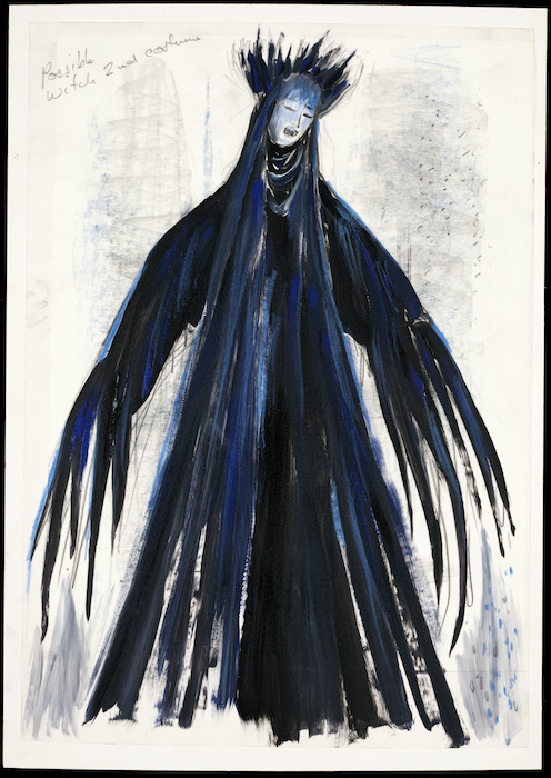 Boyce, Raymond Stanley, 1928-2019 :Possible second witch. [Hansel and Gretel costume design, 1995].
