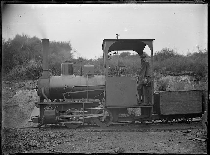 Steam locomotive, built by Orenstein & Koppel, Germany (maker's no. 1411)