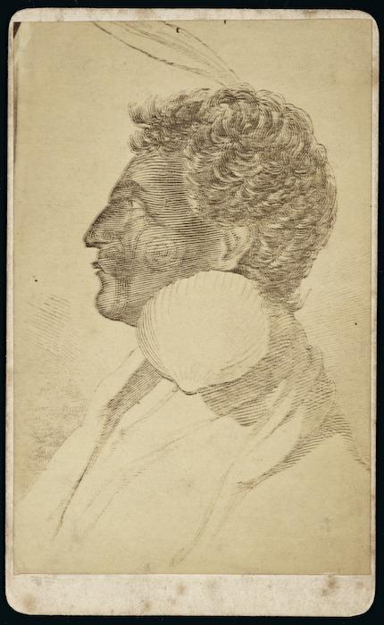 Portrait of Te Rauparaha