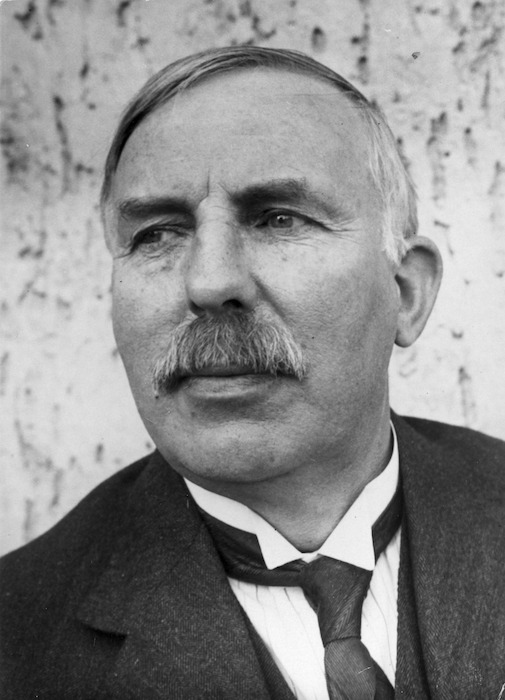 Portrait of Ernest Rutherford - Photograph taken by Umbo