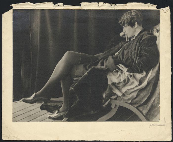 Ngaio Marsh - Photograph taken by W S Baverstock