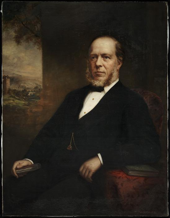 Horsburgh, John A, 1835-1924 :[Portrait of Walter Turnbull] Edin.r 1880