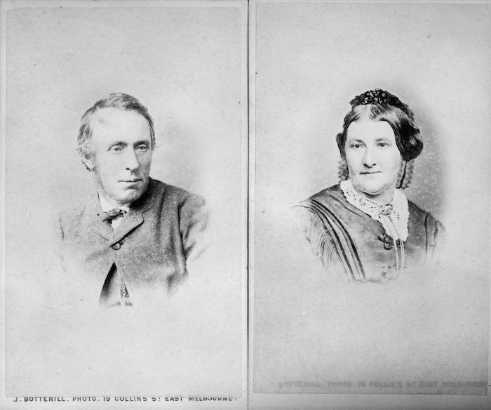 Thomas and Jane Mason of Mason's Gardens, Taita, Lower Hutt