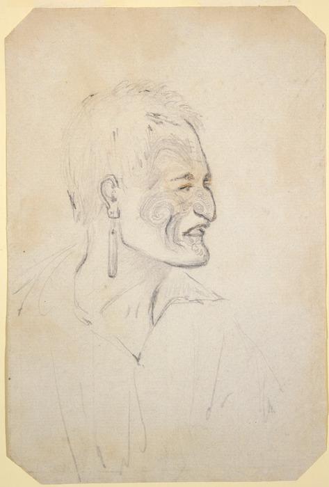 Heaphy, Charles, 1820-1881 :[Te Horeta Taniwha. ca 1850]